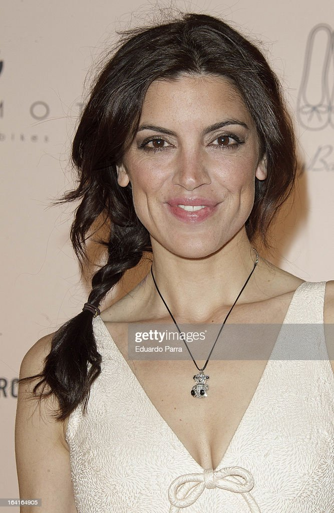 Jimena Mazucco attends Pretty Ballerinas photocall party at Ramses bar on March 20, 2013 in Madrid, Spain.