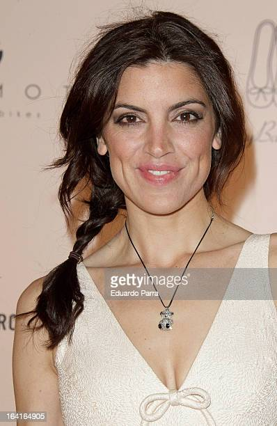Jimena Mazucco attends Pretty Ballerinas photocall party at Ramses bar on March 20 2013 in Madrid Spain