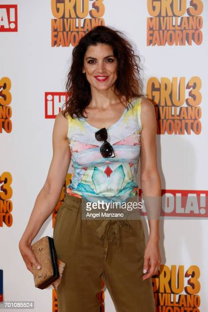 Jimena Mazucco attends the 'Despicable Me 3' premiere at Kinepolis cinema on June 22 2017 in Madrid SPAIN