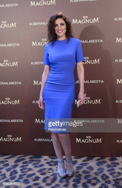 Jimena Mazucco attends the Magnum new campaign presentation party at the Palacete de Fortuny on June 14 2017 in Madrid Spain