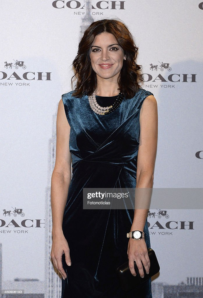 Jimena Mazuco attends the opening of Coach boutique on November 20, 2013 in Madrid, Spain.