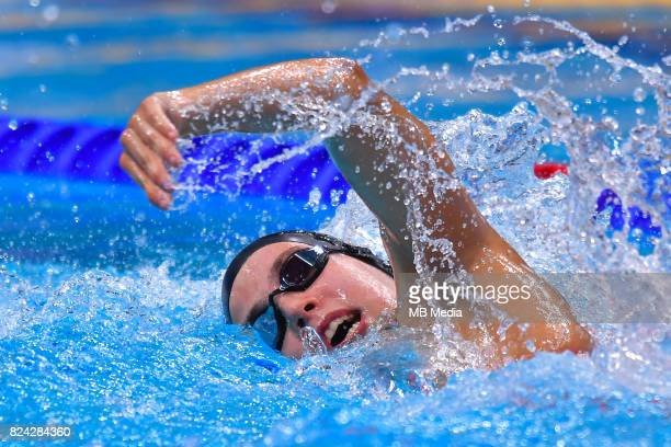 Jimena Perez during the Budapest 2017 FINA World Championships on July 28 2017 in Budapest Hungary