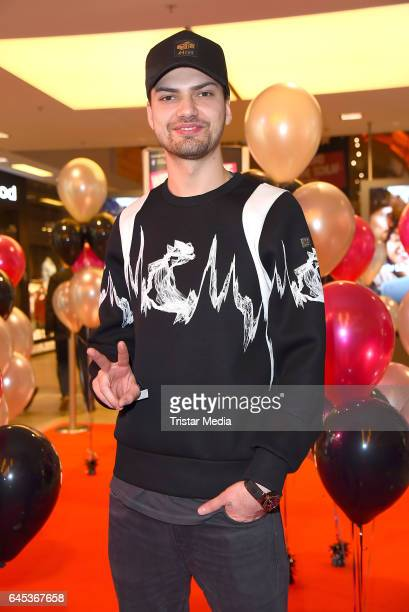 Jimi Blue Ochsenknecht attends the late night shopping party on February 25 2017 in Hamburg Germany