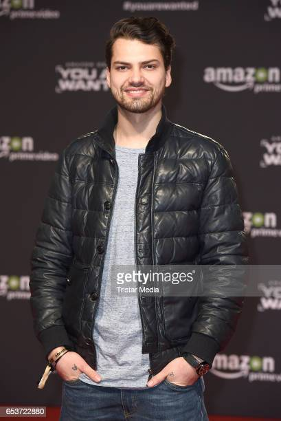 Jimi Blue Ochsenknecht attends the premiere of the Amazon series 'You are wanted' at CineStar on March 15 2017 in Berlin Germany