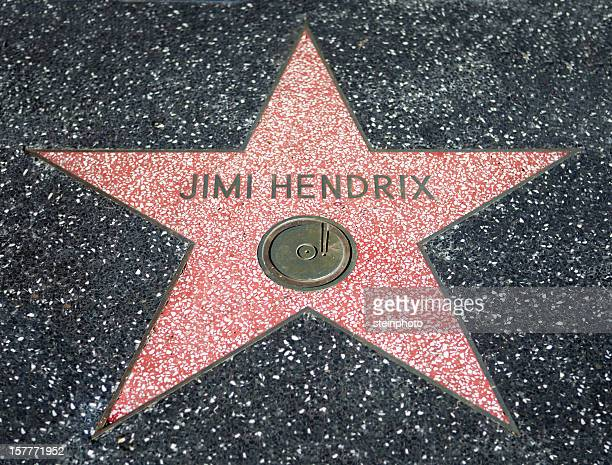 Jimi Hendrix Walk Of Fame Star