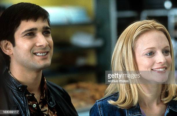 Jimi Mistry and Heather Graham in a scene from the film 'The Guru' 2002