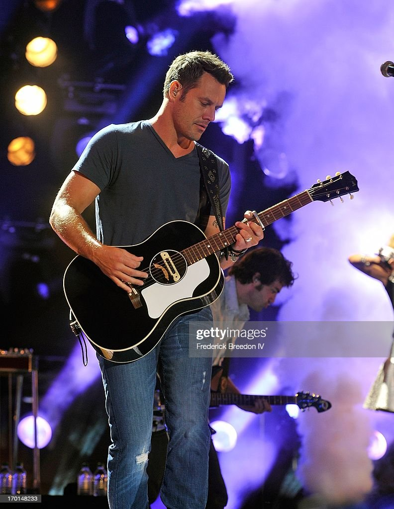 Jimi Westbrook of Little Big Town performs at LP Field during the 2013 CMA Music Festival on June 7, 2013 in Nashville, Tennessee.