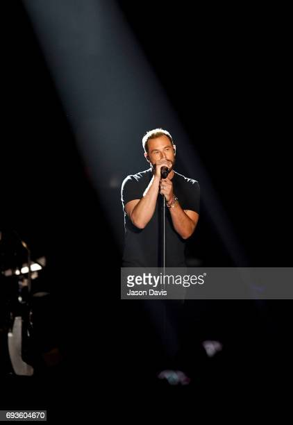 Jimi Westbrook of Little Big Town performs onstage at the 2017 CMT Music Awards at the Music City Center on June 7 2017 in Nashville Tennessee
