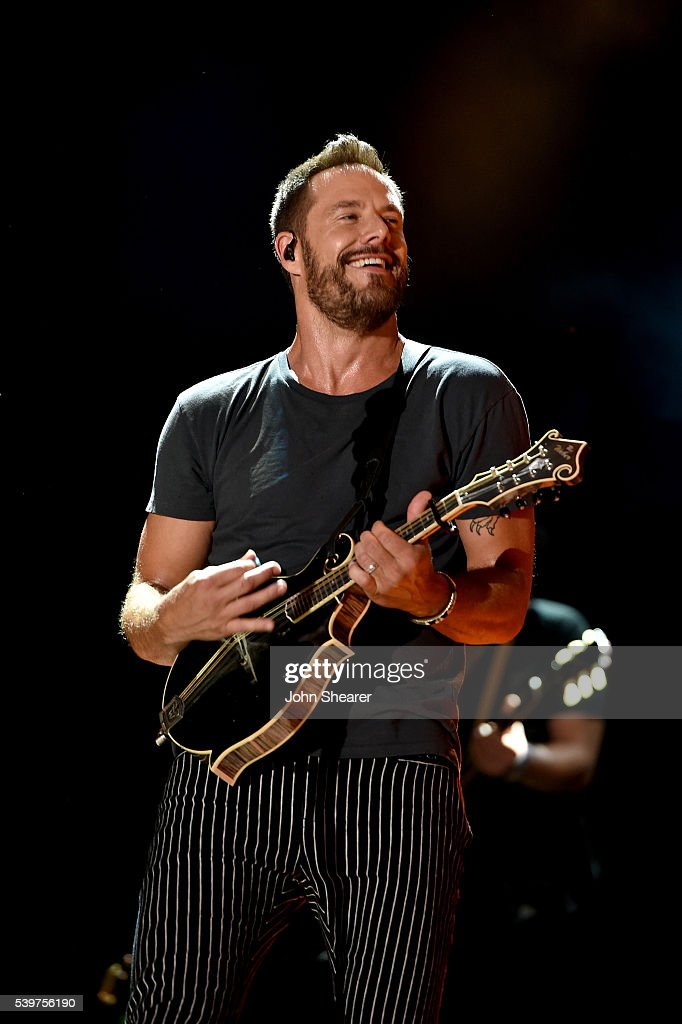Jimi Westbrook of Little Big Town performs onstage during 2016 CMA Festival Day 4 at Nissan Stadium on June 12 2016 in Nashville Tennessee