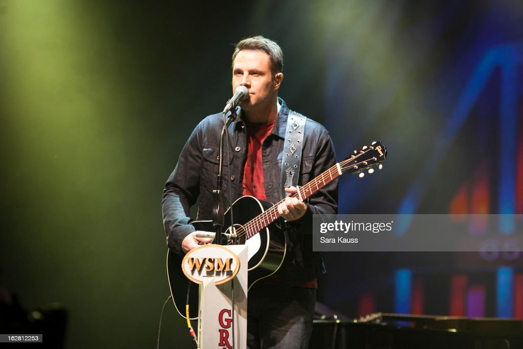 Jimi Westbrook performs onstage during CRS 2013 on February 27, 2013 at the Grand Ole Opry in Nashville, Tennessee.