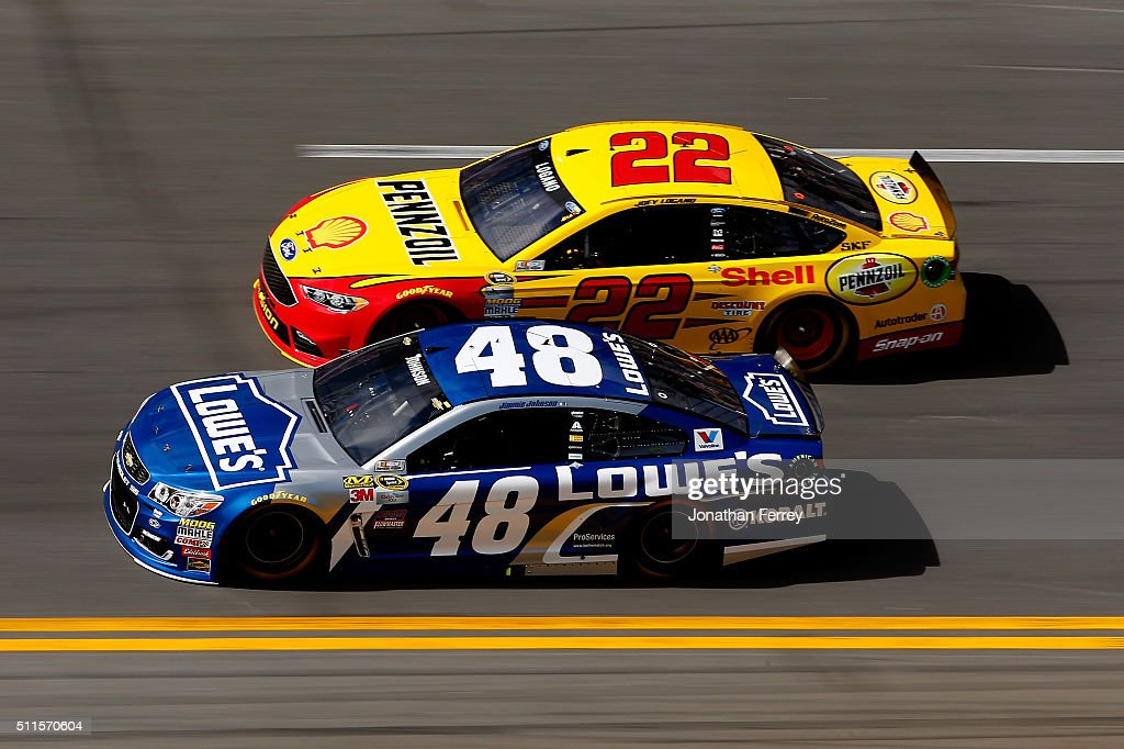jimmie johnson driver of the 48 lowe 39 s chevrolet races joey logano. Cars Review. Best American Auto & Cars Review