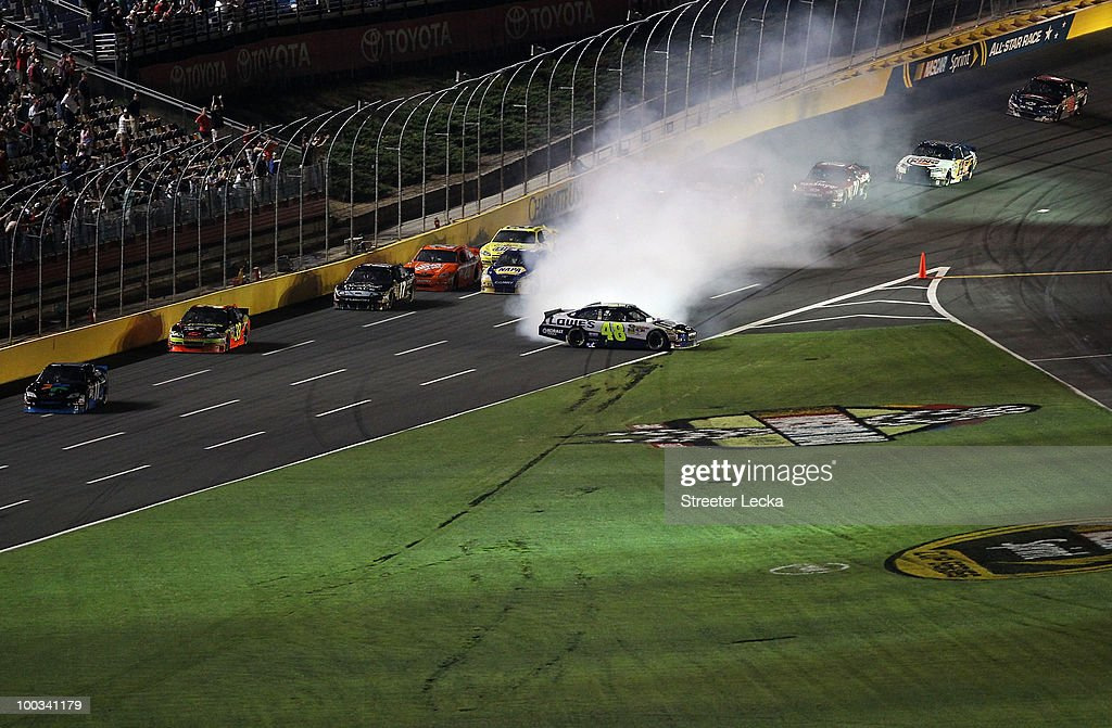 Sprint all star race getty images for Johnson motor company of south carolina