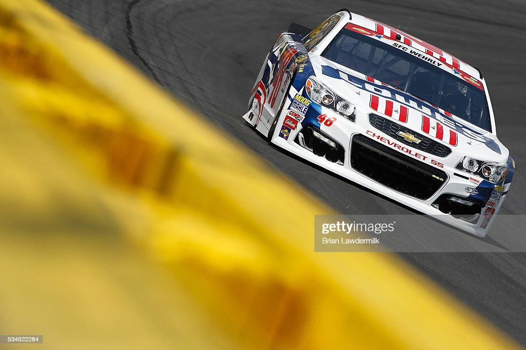 Charlotte Motor Speedway Day 1 Getty Images