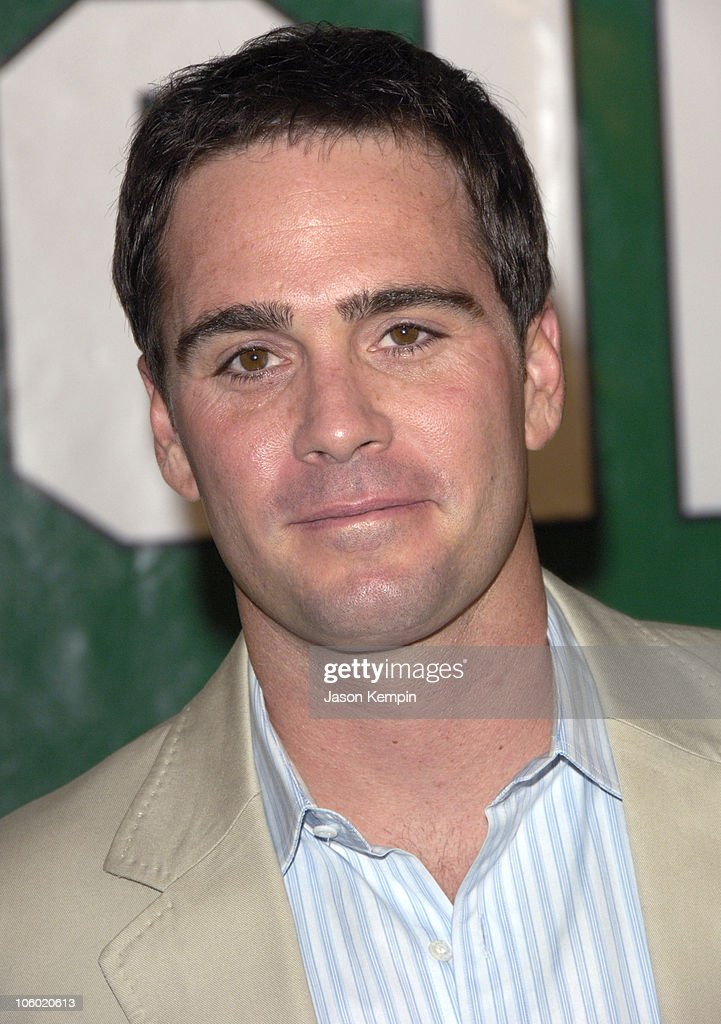 Jimmie Johnson during 'Invincible' New York Premiere - August 23, 2006 at The Ziegfeld Theater in New York City, New York, United States.