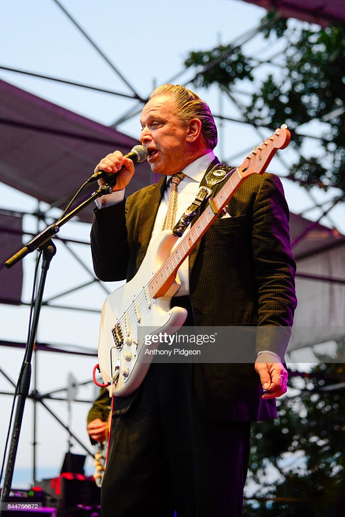 Jimmie Vaughan performs onstage at Waterfront Blues Festival at Tom McCall Waterfront Park on July 1 2016 in Portland Oregon