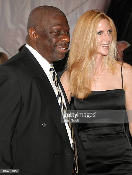 Jimmie Walker and Ann Coulter during 5th Annual TV Land Awards Arrivals at Barker Hanger in Santa Monica CA United States