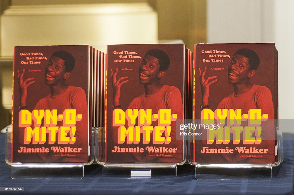 Jimmie Walker speaks during a discussion about his book 'Dynomite! Good Times, Bad Times, Our Times - A Memoir' at McGowan Theater on May 3, 2013 in Washington, DC.