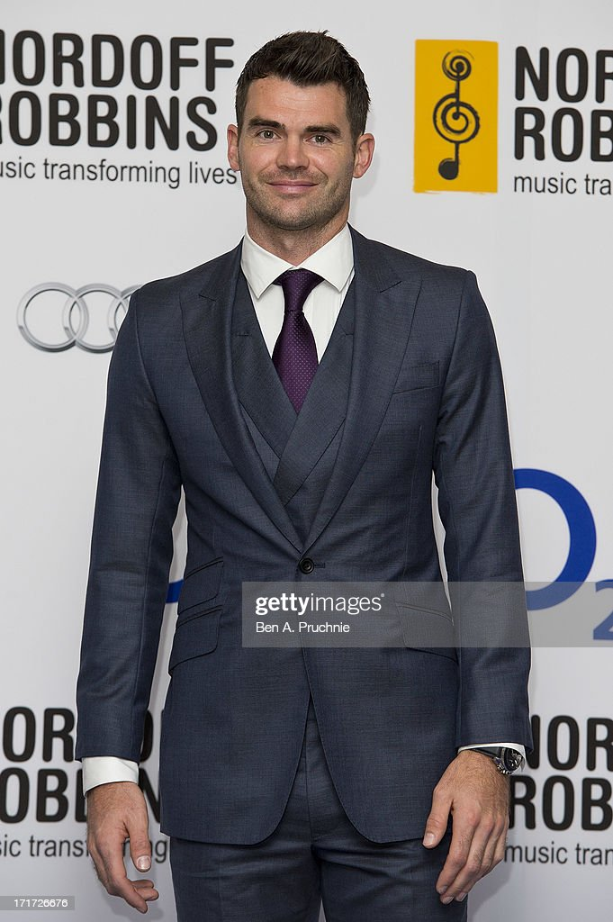Jimmy Anderson attends the Nordoff Robbins Silver Clef awards at London Hilton on June 28, 2013 in London, England.