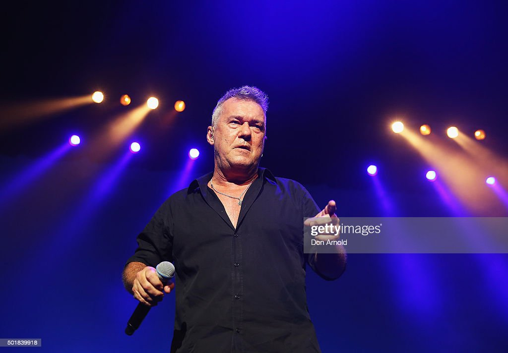 Jimmy Barnes of Cold Chisel performs at Qantas Credit Union Arena on December 18 2015 in Sydney Australia