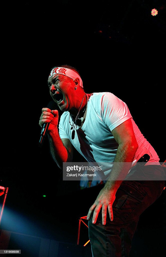 Jimmy Barnes of Cold Chisel performs on stage at Allphones Arena on November 9 2011 in Sydney Australia