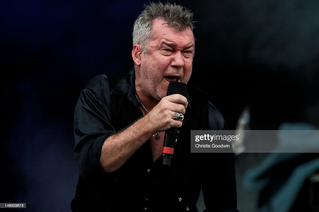 Jimmy Barnes of Cold Chisel performs on stage on Day 1 of Hard Rock Calling at Hyde Park on July 13 2012 in London United Kingdom