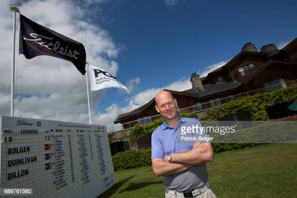 Jimmy Bolger from Kilkenny Golf Club pictured after winning the 2017 Titleist Footjoy PGA Professional Championship Irish Qualifier at Luttrellstown...