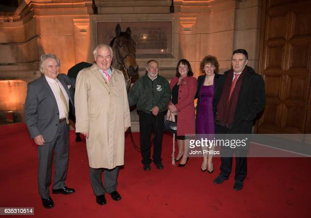 Jimmy Bowman Douglas Pride Deborah Thompson Lucinda Russell and Peter Scoudemore attend The Randox Health Grand National Weights Evening with 2016...
