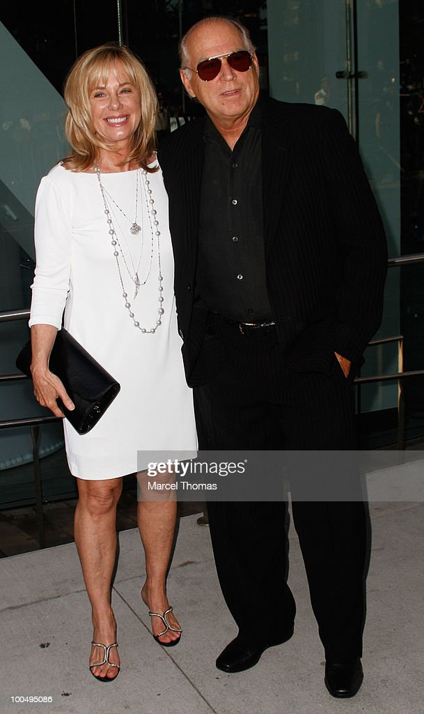 Jimmy Buffett and wife attend the The Film Society of Lincoln Center's 37th Annual Chaplin Award gala at Alice Tully Hall on May 24, 2010 in New York City.