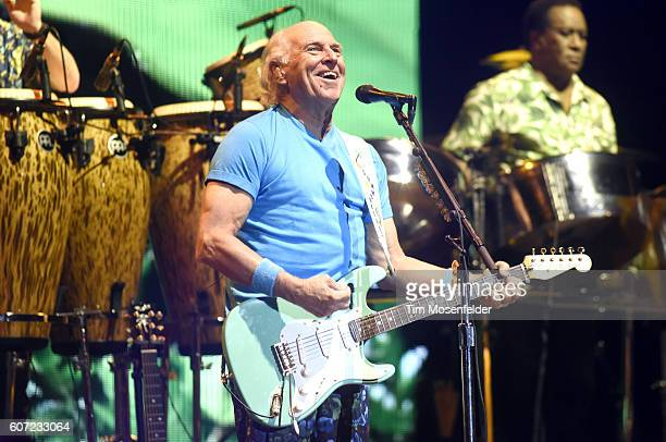 Jimmy Buffett of Jimmy Buffett and the Coral Reefer Band performs during KAABOO Del Mar music festival on September 16 2016 in Del Mar California