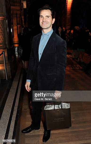 Jimmy Carr attends an after party following the press night performance of 'The Book of Mormon' at the Natural History Museum on March 21 2013 in...