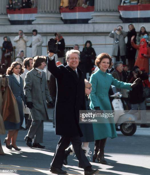 Jimmy Carter Amy Carter and Rosalynn Carter