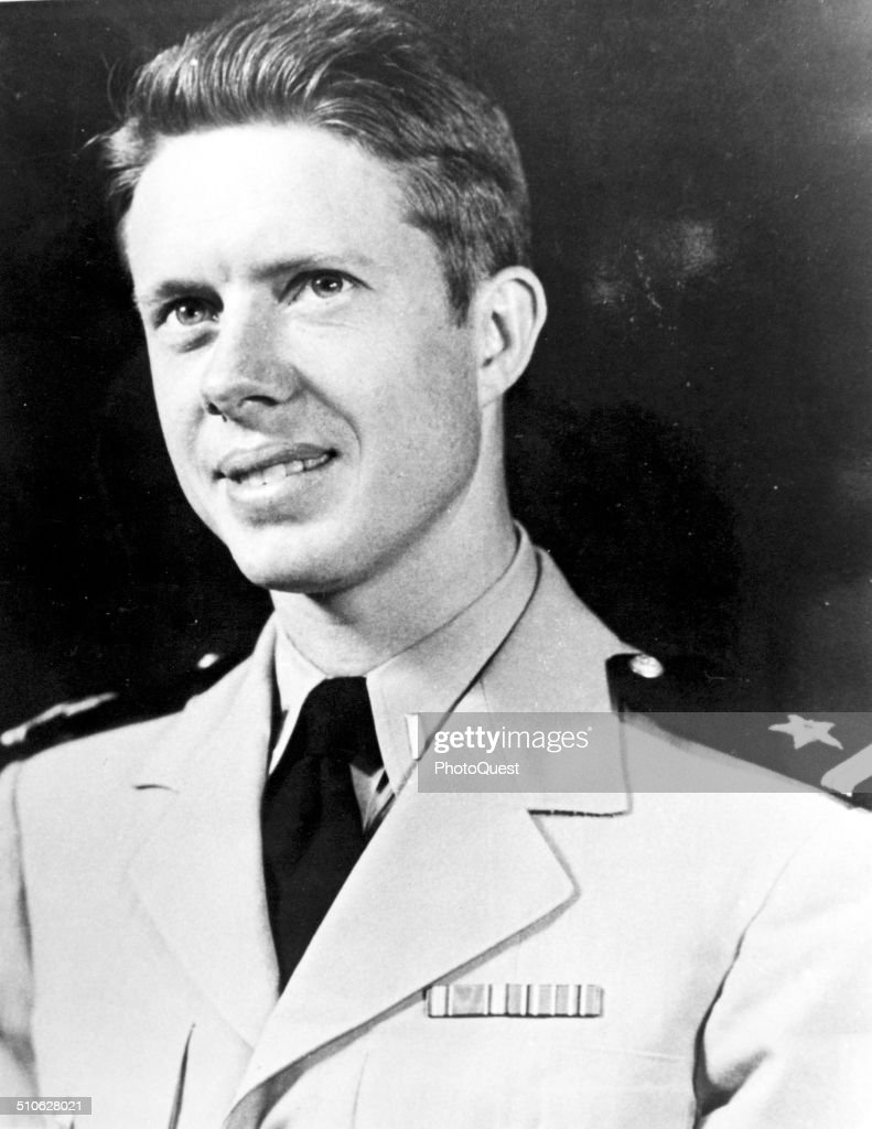 Jimmy Carter as Ensign USN circa World War II