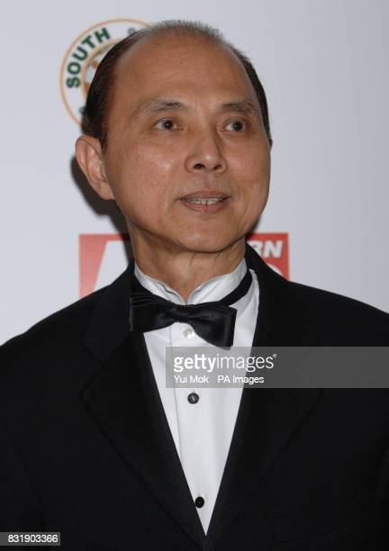 Jimmy Choo arrives at the Eastern Eye Asian Business Awards 2006 at the Grosvenor Park Hotel central London