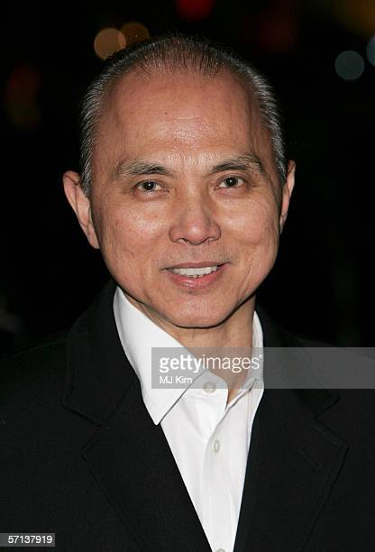 Jimmy Choo arrives at the World Premiere of 'Basic Instinct II Risk Addiction' at Vue Leicester Square on March 15 2006 in London England The film is...