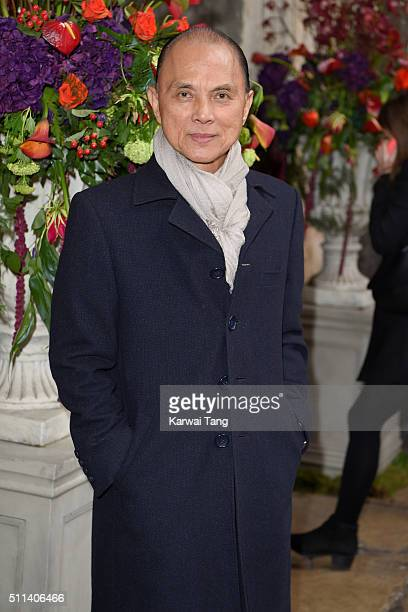 Jimmy Choo attends the Julien Macdonald show during London Fashion Week Autumn/Winter 2016/17 at One Mayfair on February 20 2016 in London England