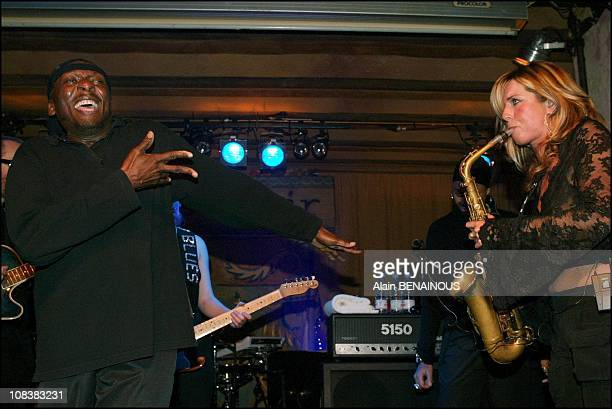 Jimmy Cliff and Candy Dulfer in Paris France on November 12 2002