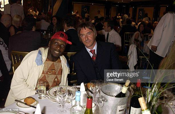 Jimmy Cliff And Paul Weller Silver Clef Lunch Of Behalf Of The Nordoff Robbins Music Theraphy Charity At The Hotel Intercontinental Hyde Park In...