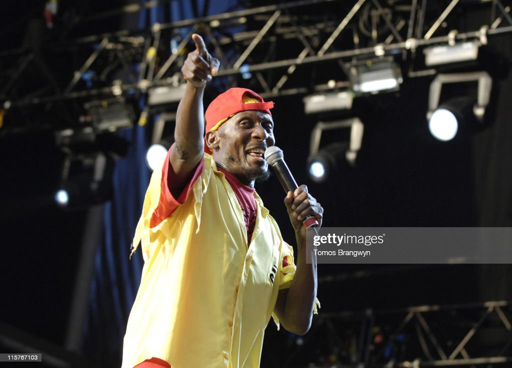 Jimmy Cliff during Lovebox Weekender 2006 - Day 2 at Victoria Park in London, Great Britain.