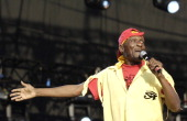 Jimmy Cliff during Lovebox Weekender 2006 Day 2 at Victoria Park in London Great Britain