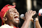 Jimmy Cliff during Volvic Lovebox Weekender Music Festival Day 2 at Victoria Park in London Great Britain