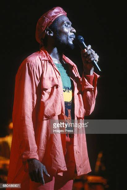 Jimmy Cliff in concert circa 1985 in New York City