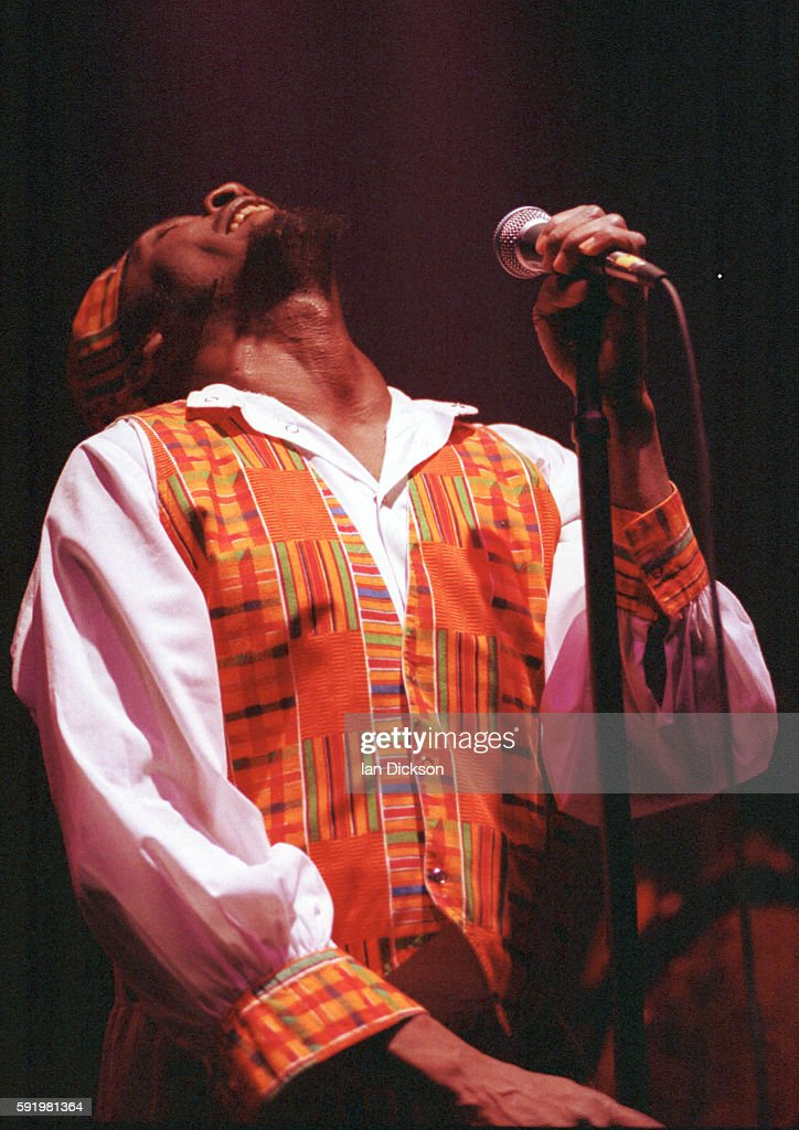 Jimmy Cliff performing on stage at Town Country Club Kentish Town London 21 September 1990