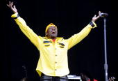 Jimmy Cliff performs as part of the 2010 Bonnaroo Music and Arts Festival on June 12 2010 in Manchester Tennessee