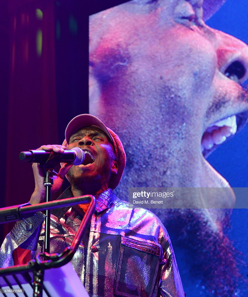 Jimmy Cliff performs at 'A Night of Reggae' hosted by Helena Bonham Carter for Save The Children UK at The Roundhouse on March 12, 2014 in London, England.