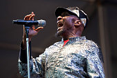 Jimmy Cliff performs at Fair Grounds Race Course on April 24 2015 in New Orleans Louisiana