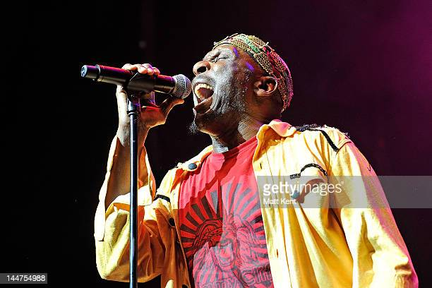 Jimmy Cliff performs at Indigo at O2 Arena on May 18 2012 in London England