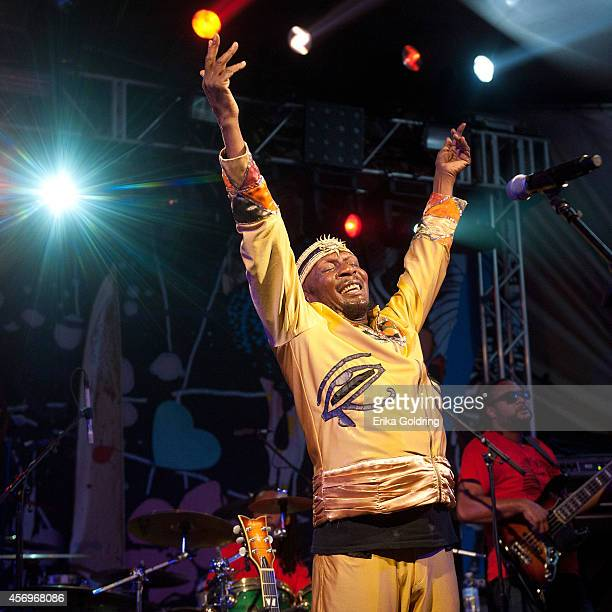 Jimmy Cliff performs at Stubb's on October 9 2014 in Austin Texas