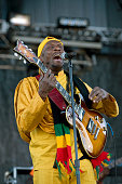 Jimmy Cliff performs at the Mile High Music Festival at Dick's Sporting Goods in Denver Colorado on August 15 2010