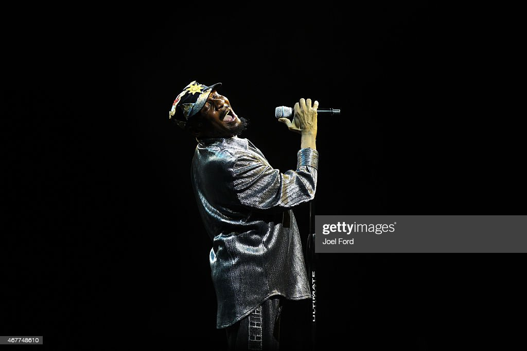 Jimmy Cliff performs live for fans at ASB Arena on March 27, 2015 in Tauranga, New Zealand.