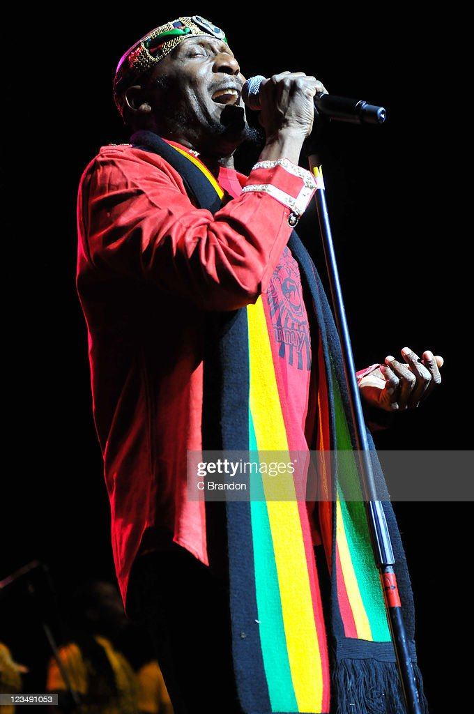 Jimmy Cliff performs on stage at Indigo2 at O2 Arena on September 3 2011 in London United Kingdom